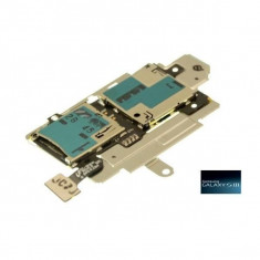 Piese GSM - Suport cititor SIM si card MicroSD Samsung I9305 Galaxy S3 LTE O
