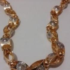 Lantisor aur, Barbati - Lant aur 14k masiv stil VERSACE