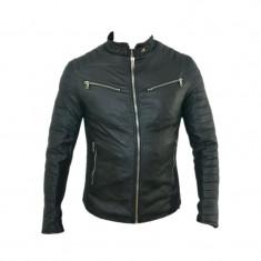 Geaca barbati Zara, Piele - Geaca Zara Man Model Casual SlimFit Imblanita Cod Produs 9109
