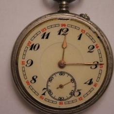 CEAS DE BUZUNAR-FARA NUME-D=5CM-ARATA SI FUNCTIONEAZA BINE. - Ceas de buzunar vechi