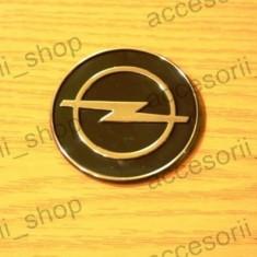 Emblema OPEL negru - Embleme auto