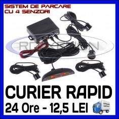 SISTEM SET 4 SENZORI DE ASISTENTA LA PARCARE - DISPLAY LED SI AVERTIZARE SONORA - Senzor de Parcare ZDM