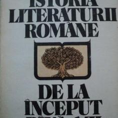 Studiu literar - ISTORIA LITERATURII ROMANE DE LA INCEPUT PANA AZI-AL.PIRU