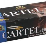 TUBURI CARTEL 200 tuburi, filtre tigari / cutie, pentru injectat tutun, tigari