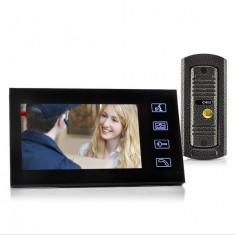 J85 Set Interfon si Camera Video 7'' - Infrarosu, Anti-Vandalism
