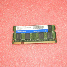 Memorie ram laptop 2GB Adata PC2-6400 DDR2-800MHz ADOVF1B163GE