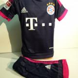 Set echipament fotbal - Echipamente sportive copii Bayern Munchen-Gotze bleumarin marimea 164
