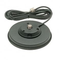 Statie radio - Resigilat - Baza magnetica Midland 140/PL Cod T052.01 160mm contine cablu 3, 5m si mufa PL259