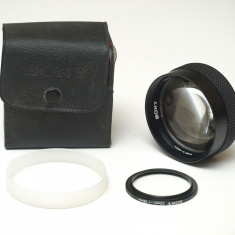 Sony VCL 1558-A - Lentila de conversie X 1.5 - Teleconvertor Obiectiv Foto