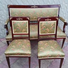 Mobilier - Salon frantuzesc stil Napoleon III - canapea + 2 scaune