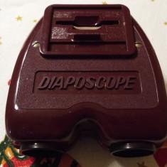 Aparat diapozitive binocular DIAPOSCOPE - Aparat de Colectie