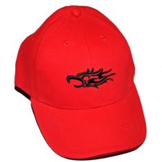Sapca Barbati - Sapca rosie - logo tribal