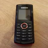 Samsung E2120 - 69 lei - Telefon Samsung, Negru, Nu se aplica, Neblocat, Single SIM, Fara procesor