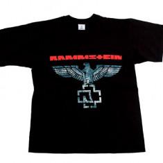 Tricou Rammstein - cruce de fier - vultur - Tricou barbati, Marime: M, XL, XXL, Culoare: Din imagine