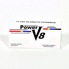 Stimulente sexuale, Afrodisiace - Power V8 Pastile Potenta Impotenta Ejaculare Precoce Stimulent Erectie Natural