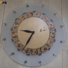 Ceas de perete fata pentru ceas sticla ornament pentru casa hobby