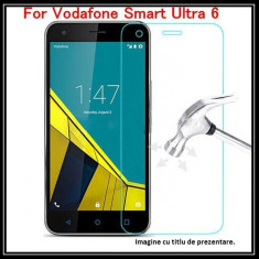 FOLIE de sticla VODAFONE ULTRA 6 0.33mm, 2.5D, 9H tempered glass - Folie de protectie Vodafone, Anti zgariere