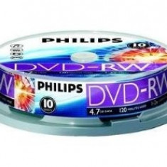 DVD Recordere - Philips DVD-RW 4.7GB (10 buc. Spindle, 4x) PHILIPS