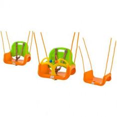 Leagan/Balansoar - Leagan Transformabil 3 in 1 cu Centuri de Siguranta orange-green