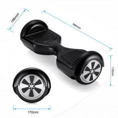 SCOOTER ELECTRIC BALANCER NEGRU - Hoverboard