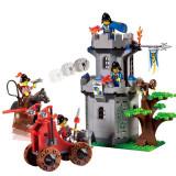 Forest Fort joc tip LEGO Enlighten 1019 Knights Castle Series 262 piese - Jocuri Seturi constructie, 4-6 ani, Baiat