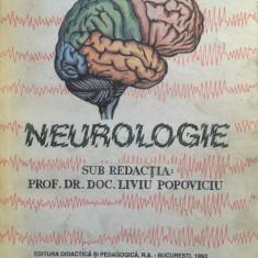 NEUROLOGIE - sub redactia Liviu Popoviciu - Carte Neurologie