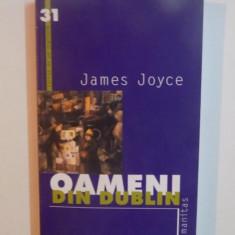 Literatura straina - OAMENII DIN DUBLIN de JAMES JOYCE, 2002