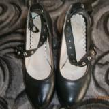 PANTOFI - Pantofi dama, 38, Negru