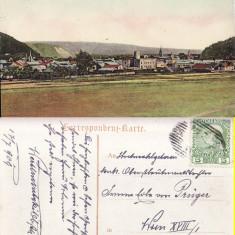 Carte Postala, Circulata, Fotografie - Gura Humorului ( Bucovina, jud. Suceava )- Vedere generala- rara