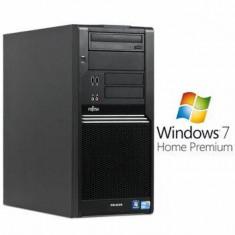 Sisteme desktop fara monitor - PC Refurbished Fujitsu CELSIUS W380 i5 650 Win 7 Home