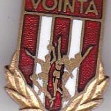 Insigna Sportiva VOINTA