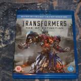 Film - Transformers : Age Of Extinction 3D + 2D + Bonus, Release UK Original - Film SF warner bros. pictures, BLU RAY 3D, Engleza