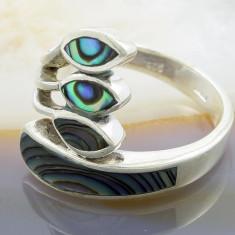 Inel din Argint 925, cu Abalone, cod 888 - Inel argint
