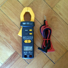 Cleste ampermetric (ditz clampmetru) TES 3090 ohmmetru, voltmetru, continuitate - Multimetre