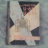 Tractor U 650-U 651-Notita tehnica - Carti auto