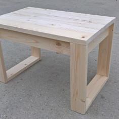 Masuta din lemn (exterior/ interior) - Masa gradina