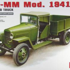 + Macheta 1/35 Miniart 35130 - Russian GAZ-MM Cargo Truck + - Macheta auto