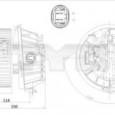 Ventilator, habitaclu CITROËN C3 I 1.6 16V - TYC 505-0001 - Motor Ventilator Incalzire