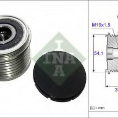 Sistem roata libera, generator CITROËN C4 II 1.6 HDi 90 - INA 535 0179 10 - Fulie