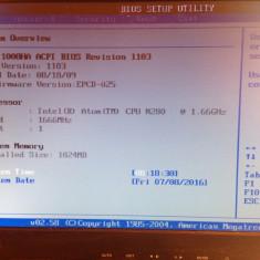 PLACA DE BAZA ASUS EEE PC 1008 1008HA COMPLETA ORIGINALA PERFECT FUNCTIONALA - Placa de baza laptop Asus, DDR2, Contine procesor