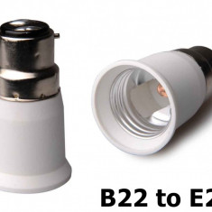 B22 to E27 Base Converter AL262 - Distrugator documente