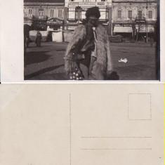 Satu Mare - Piata.Tipuri -rara - Carte Postala Maramures 1904-1918, Necirculata, Printata