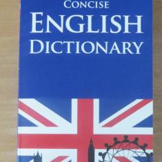 Concise English Dictionary (Dictionar englez-englez) Altele