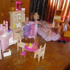 Mobilier papusi Barbie - OKAZIE Mattel, Multicolor