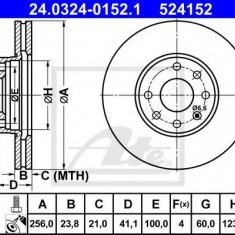 Disc frana OPEL ASTRA G hatchback 1.2 16V - ATE 24.0324-0152.1 - Discuri frana REINZ