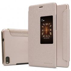 Husa Huawei Ascend P8 Nillkin Sparkle Aurie / Gold - Husa Telefon