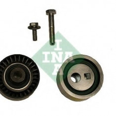Set role, curea dintata PEUGEOT 206 hatchback 1.9 D - INA 530 0440 09 - Set Role Curea Transmisie