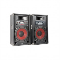 Skytec set de boxe activ PA 1200 W, USB-SD-MP3 - Boxa activa