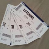 4 bilete concert Rihanna normal circle Bucuresti 14 august - Bilet concert