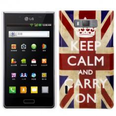 Husa Plastic LG Optimus L7 - UK Flag - Husa Telefon